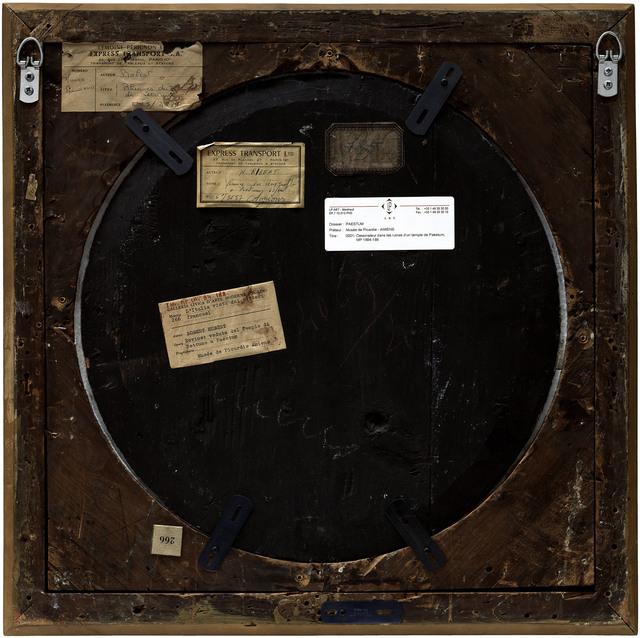 Philippe Gronon, 'Verso n°33, Dessinateur dans les ruines d'un temple à Paestrum, par Robert Hubert, collection du musée des Beaux-arts d'Amiens', 2009, Modernism Inc.