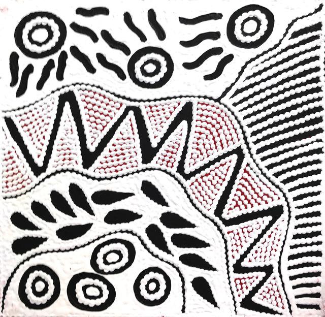 Ursula Napangardi Hudson, 'Pikilyi Jukurrpa (Vaughan Springs Dreaming)', 2018, Wentworth Galleries