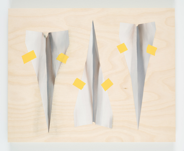 , 'Three Paper Darts,' 2018, JGM Gallery