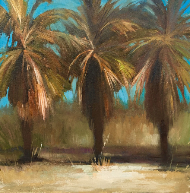 , 'Desert Palms,' 2016, Sue Greenwood Fine Art