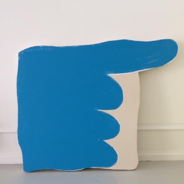 , 'Blue Pointer,' 2018, Andersen's