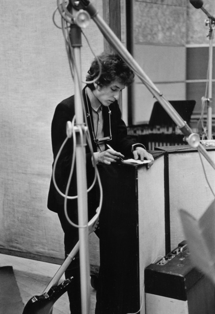 ", 'Bob Dylan ""Like a Rolling Stone"" Recording Session, NYC,' 1965, TASCHEN"