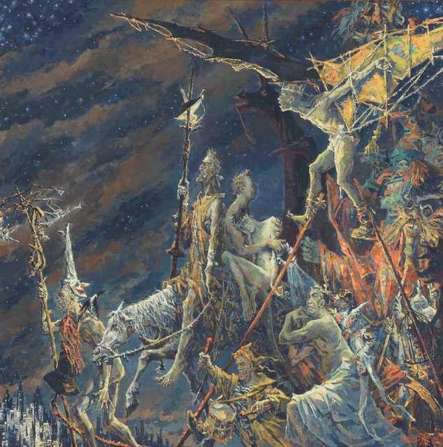 , 'Procession III,' 1992, Catto Gallery