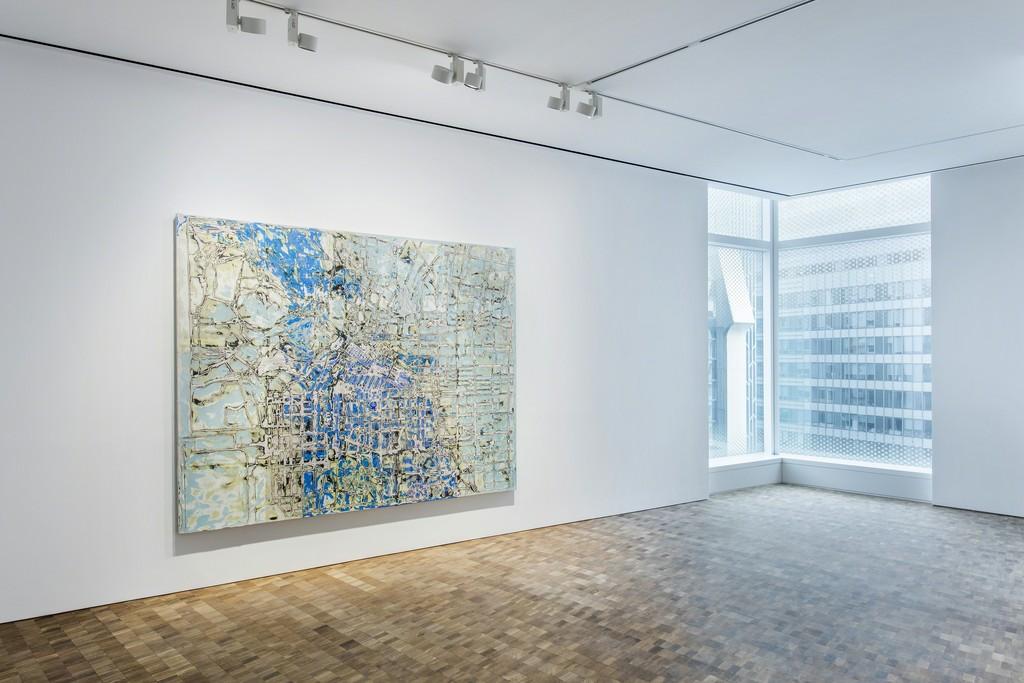 Installation view, 'Mark Bradford', Hauser & Wirth Hong Kong, 2018 © Mark Bradford Courtesy the artist and Hauser & Wirth Photo: JJYPHOTO