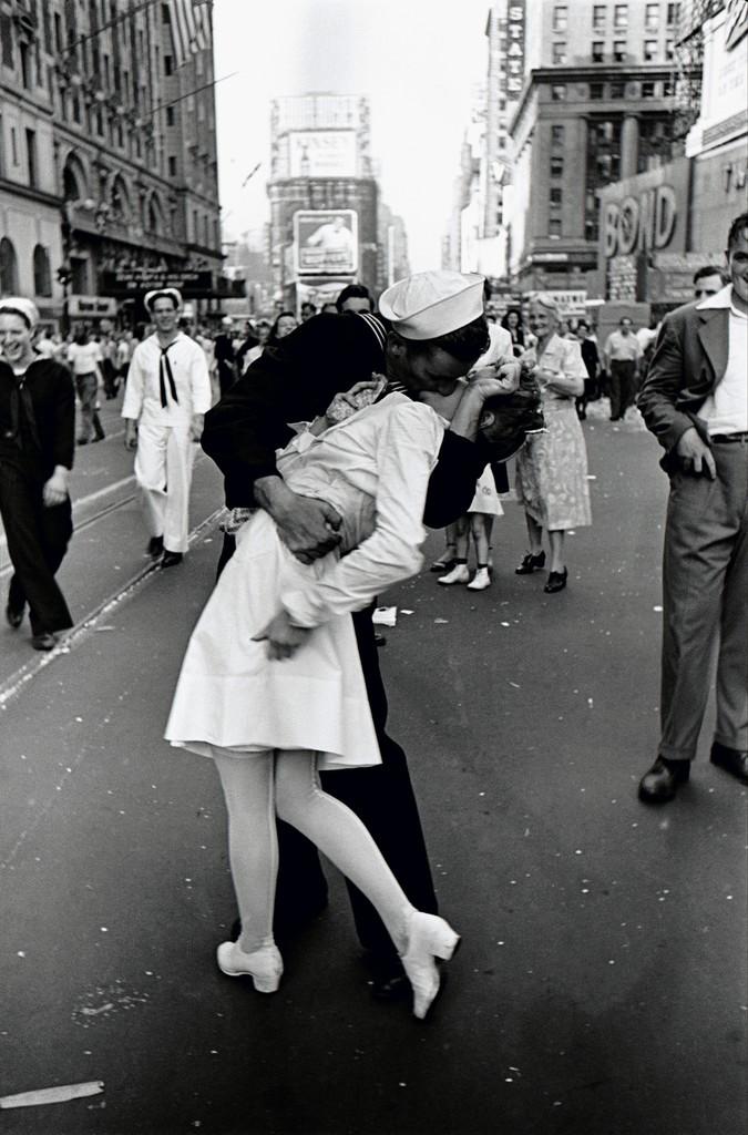 VJ Day in Time Square
