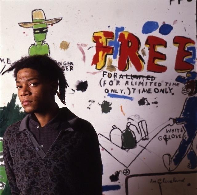 , 'Jean Michel Basquiat NY, Free,' 1987, Eric Firestone Gallery