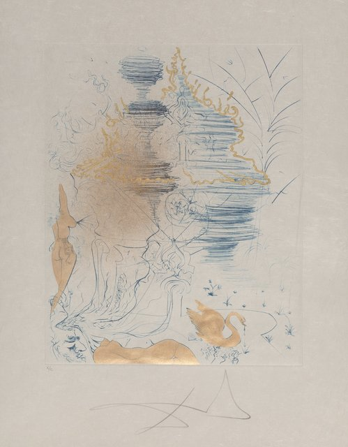 Salvador Dalí, 'La Pagode, from The Hippies', 1969, Heritage Auctions
