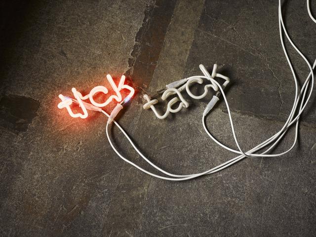 , 'TICK TACK,' 2017, Galerie Philippe David