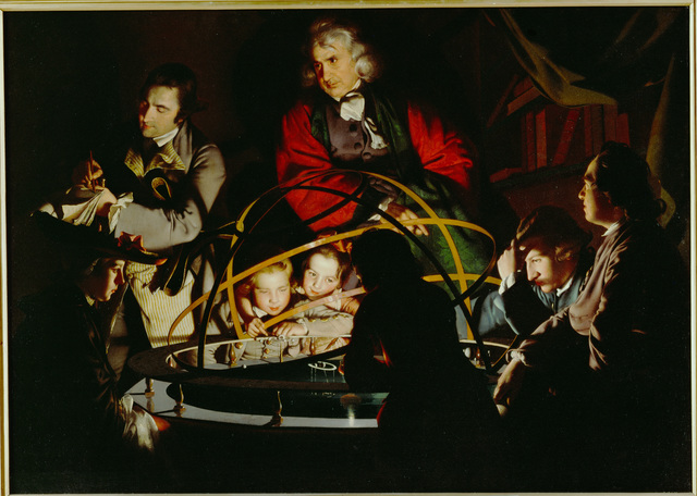 Joseph Wright of Derby, 'A Philosopher Gives a Lecture on the Orrery', 1766, Erich Lessing Culture and Fine Arts Archive