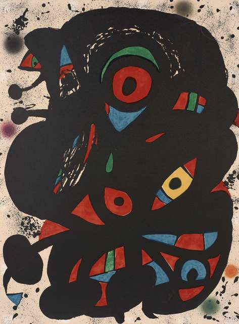 Joan Miró, 'Strindberg Mappen', 1976, Zeit Contemporary Art