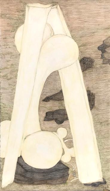 , 'Untitled (Vertical Bones),' 2018, Madrona Gallery