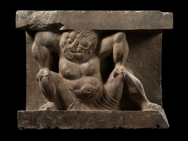 'Crouching Monster', 550-577, Avery Library
