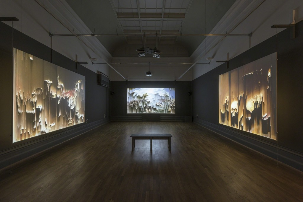 "Installation view, ""Gordon Cheung: Here Be Dragons"", Nottingham Castle Museum 2016"