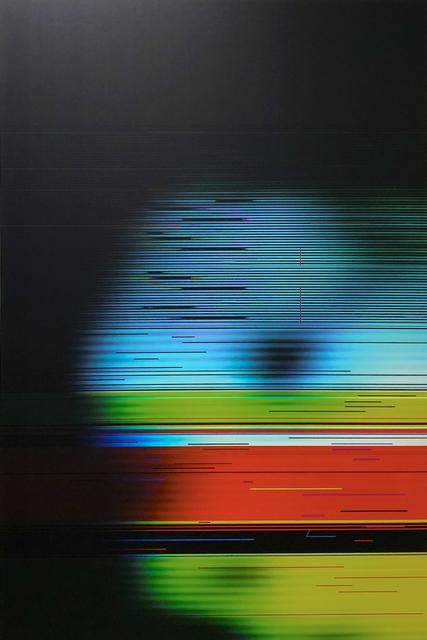 , 'Facial Disruption 2,' 2019, Barry Whistler Gallery