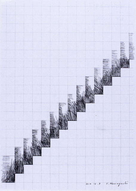 , 'Resonance of Stairway Time,' 2014, SNOW Contemporary