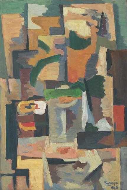 , 'Composición vibracionista,' 1946, Galería de las Misiones