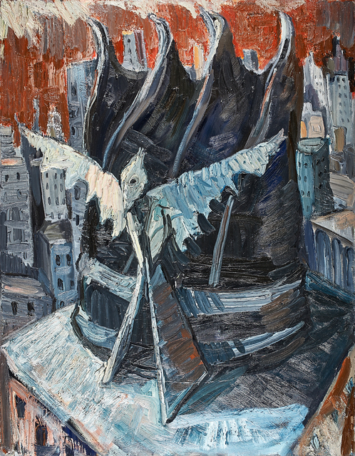 Chuck Connelly, 'Roof Top', 1983, Rago