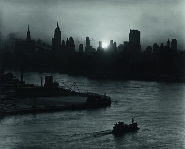 , 'NEW YORK FROM THE HUDSON RIVER,' ca. 1940, Jörg Maass Kunsthandel