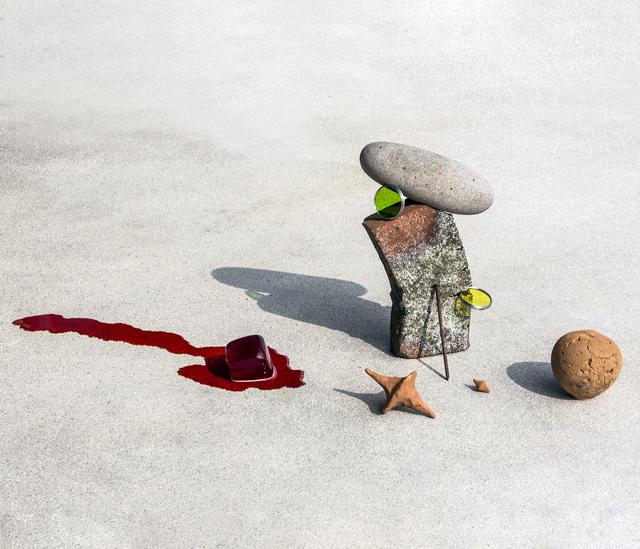Ilán Rabchinskey, 'Clay, stone, metal, chromatic filters, gelatin.', 2017, Patricia Conde Galería