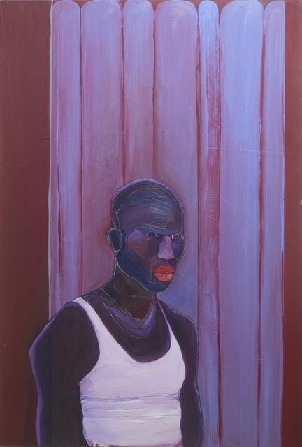 , 'The Pessimist (Respect Mboni),' 2018, EBONY/CURATED