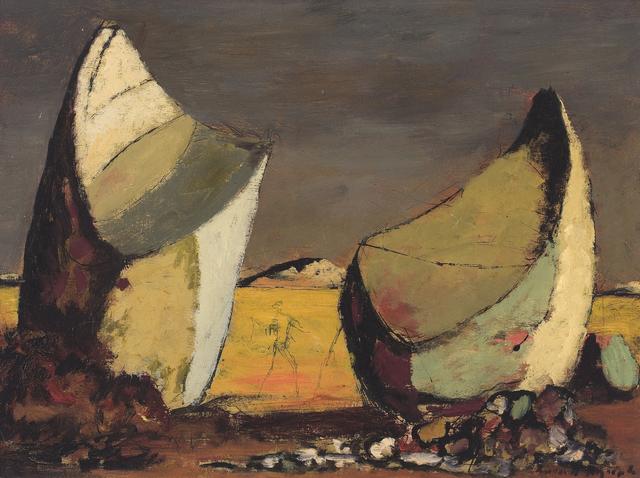 , 'Desert Landscape,' ca. 1953, Charles Nodrum Gallery