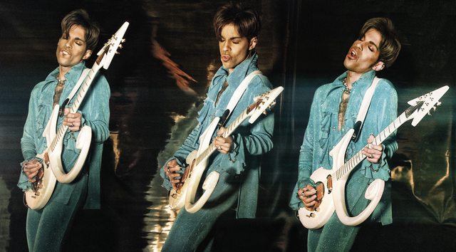 , 'Prince, Love Symbol guitar triptych,' ca. 1990, Eduard Planting Gallery | Fine Art Photographs