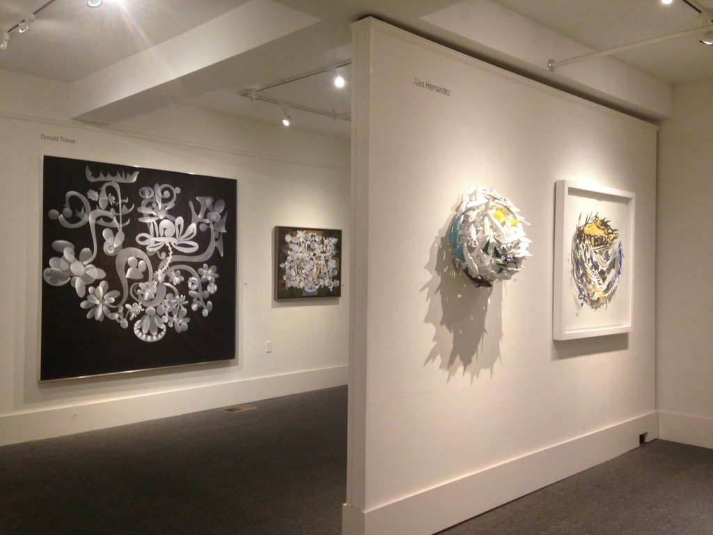 Installation view:  Donald Traver & Alex Hernandez Duenes