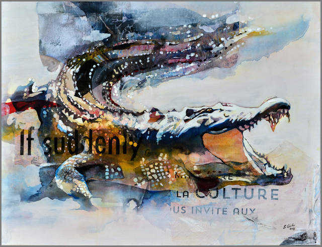 """Bruce Clarke, 'Series """"Predators"""" - If Suddenly ', 2018, Out of Africa Gallery"""
