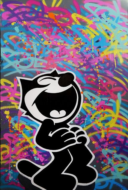 , 'Felix the cat 2,' 2016, Art Life Gallery