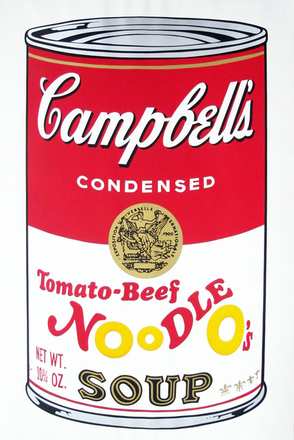 Andy Warhol, 'Campbell's Soup II: Tomato Beef Noodle O's (FS II.61)', 1969, Revolver Gallery
