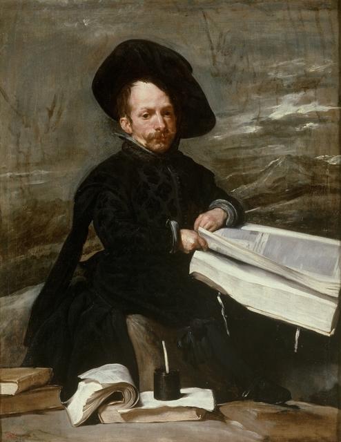 , ' Der Hofnarr Diego de Acedo,' 1635, Gemäldegalerie Alte Meister