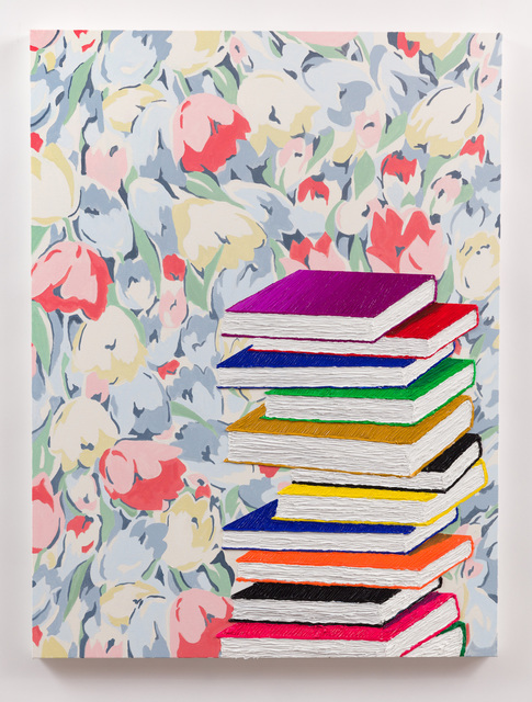 , 'Stack of Books,' 2017, Anat Ebgi