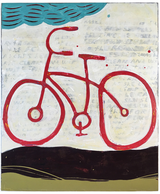 John Randall Nelson, 'Luxury Liner', 2016, Painting, Mixed media on panel, Sue Greenwood Fine Art