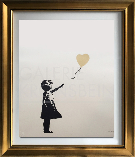 , 'Girl with Balloon - Colour AP (Gold),' 2004, Galerie Kronsbein