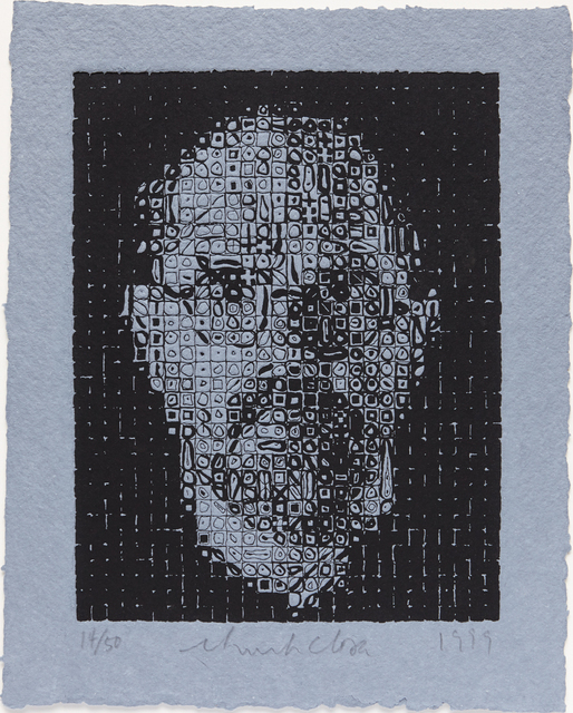 Chuck Close, 'Self-Portrait', 1999, Phillips