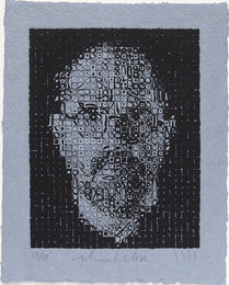 Chuck Close, 'Self-Portrait,' 1999, Phillips: Evening and Day Editions (October 2016)