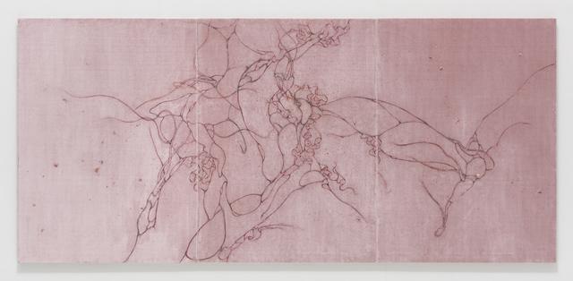 , 'Untitled (Mekamelencolia - Velvet #4 DDRG15NF),' 2017, Lehmann Maupin