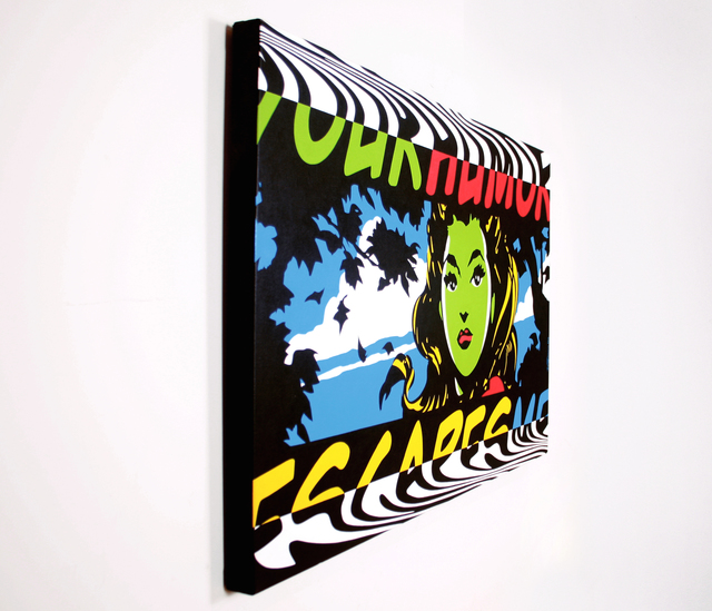 William Waggoner, 'Your Humor Escapes Me', 2012, Painting, Acrylic on Canvas, Dab Art