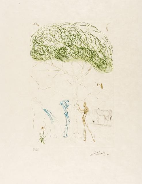 Salvador Dalí, 'Sous le Pin Parasol (Field 70-10I; M&L 414a)', 1970, Forum Auctions