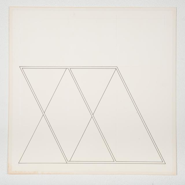 , 'Sin título,' 1978, Nueveochenta