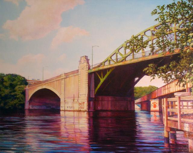 , 'BU Bridge ,' ca. 2018, Copley Society of Art