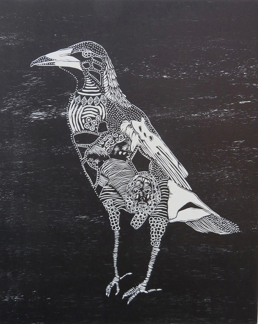 Heather Kepski, 'And the wind blew away our words', 2015, Open Bite Printmakers