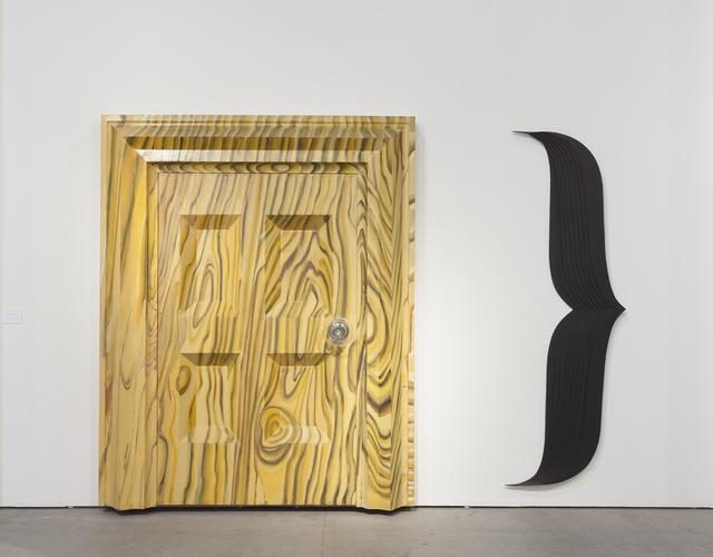 , 'Door },' 1983-84, Galerie Thomas Schulte