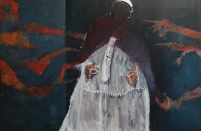 , 'Pope,' 2019, Arusha Gallery