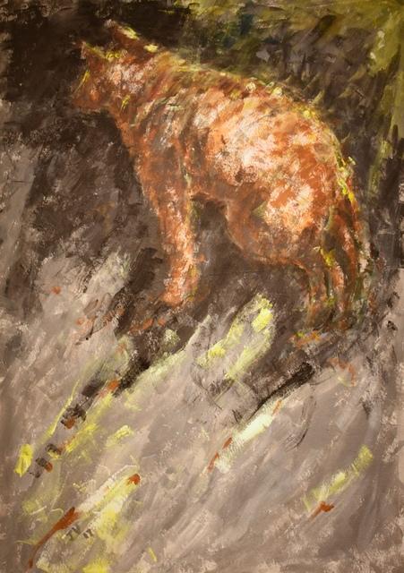 , 'Dog 1,' 2017, Carter Burden Gallery