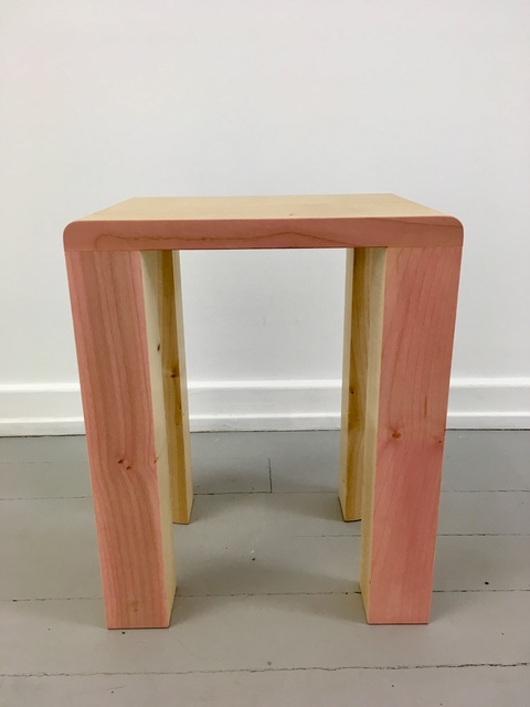 , 'Silo Stool - Pink,' 2017, Etage Projects