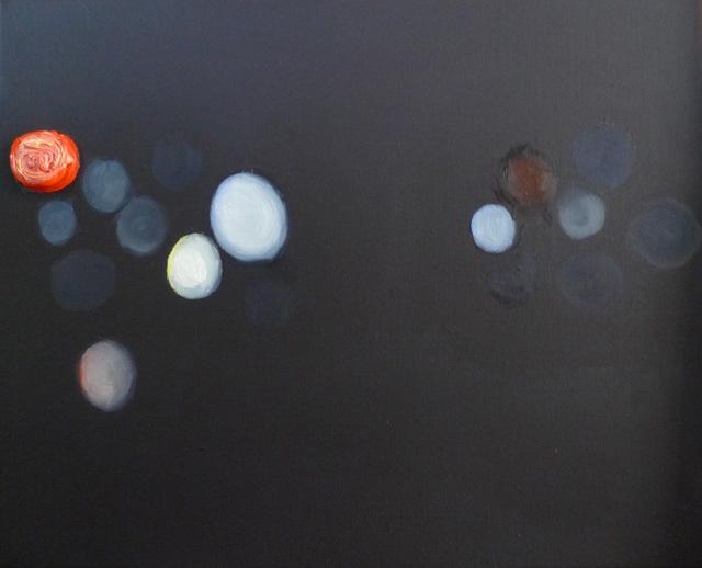 """, 'Untitled - aus der Serie """"Noise"""",' 2017, Galerie Crone"""