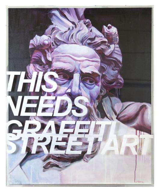 , 'This needs graffiti street art 1.2,' 2018, NextStreet Gallery