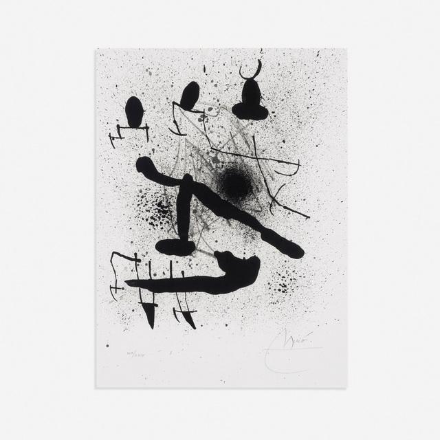 Joan Miró, 'Liberte des Libertes (from Liberte des Libertes portfolio)', 1971, Rago/Wright