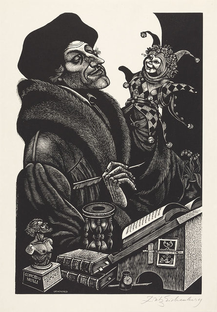 Fritz Eichenberg, 'In Praise Of Folly', 1972, Doyle